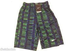 Nike Boys Youth Basketball Athletic Gym Shorts Multicolor Print NWT Size Medium