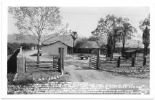 Frashers Fotos Real Photo Postcard Casa De Palommres in Pomona California~105027