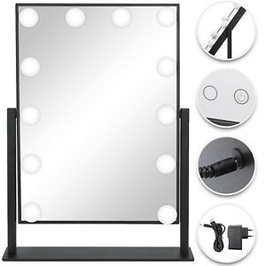 Beautify Electric Hollywood Vanity Makeup Light up Mirror- 14 Dimmable LED Bulbs