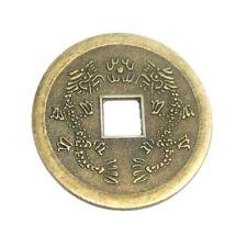 Chinesische Glücks Münze 1 St. 38 mm Feng Shui Amulett``Mineralien Stein Schmuck