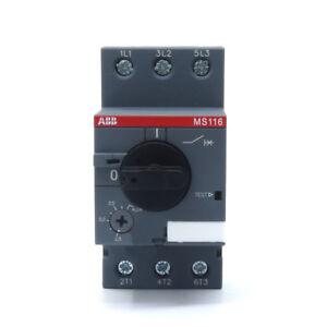 ABB MS116-4  Manual Motor Starter 2.5-4A 1SAM250000R1008 new