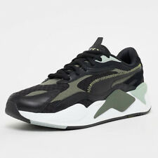 PUMA Mens RS X3 Winterised Puzzle System Running Shoes Lace Up Black Trainers