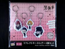 Black Butler Kuroshitsuji Book of Circus Key Holder Ring set 2 Ani-Kuji New