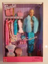 Barbie Fashion Wardrobe Doll Play Set 1999 Mattel 27788