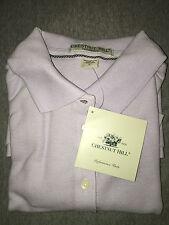 Chestnut Hill Womens Golf Shirt Short Sleeve Lavender Size Small