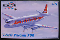 MACH 2 - VICKERS VISCOUNT 700 - Capital Airlines - 1:72 -Modellbausatz Model Kit