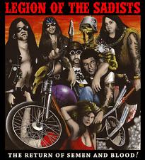Legion Of The Sadists –The Return Of Semen And Blood!Antiseen Motorhead GG Allin
