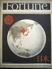 FORTUNE September 1936 Japan history, Japan Empire 1930's, Japan politics 1930's
