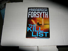 The Kill List by Frederick Forsyth (2013, Hardcover) SIGNED 1st/1st
