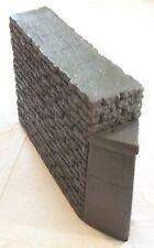 BRIDGE PIER SGL TRACK STONE BLOCK w/DEBRIS DEFLECTOR ATHERTON SCENICS (#6302)