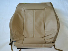 OEM FORD F-SERIES F150 LARIAT SEAT COVER RIGHT FRONT BACK LEATHER TAN PALE ADOBE