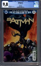 Batman #1 2016  Tim Sale Variant Cover  Sold Out 1st Print  CGC 9.8