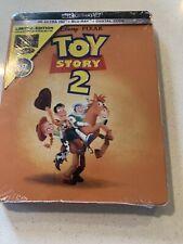 "Disney Toy Story 2 4K Ultra Hd + Blu-ray/Digital Steelbookâ""¢ Limited Brand New"