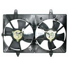 TYC 03 04 05 06 07 Murano 3.5L Dual Radiator AC Condenser Cooling Fan Motor Assy