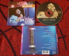 GLADYS KNIGHT **Grandes Exitos** RARE & UNIQUE 2001 Venezuelan CD *GREATEST HITS
