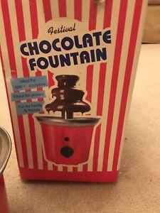 Mini Festival 3 Tier Chocolate Fountain