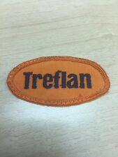 "Vtg Treflan Herbicide Sew On Patch 2 1/2"" Dow Farming Farm Country Agriculture"