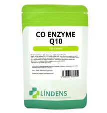 Lindens Co Enzyme Q10 30mg Co-q10 Coq10 120 Tablets Quality Natural Supplement