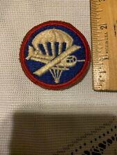New listing Vintage U.S. AIRBORNE Parachute Para Glider Cap Badge Patch