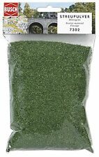 BUSCH HO SCATTER GRASS ~ 'DARK GREEN' COARSE ~ #7302 SUIT MODEL TRAIN