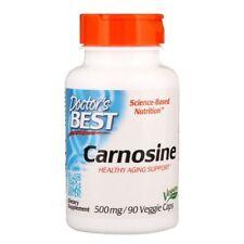 Doctor's Best Carnosine 500 mg 90 Veggie Caps