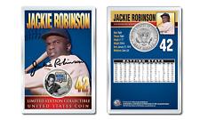 JACKIE ROBINSON - Military Legends JFK Half Dollar U.S. Coin in PREMIUM HOLDER