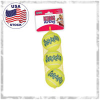 Kong AirDog Squeaker Balls [3 pack] Dog Toy vs Rubber, Your Size -XS,S,M,L,XL