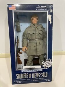 "Soldiers of the World Korean War Army Sergeant 12""  Action Figure 1/6 Doll"