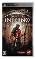 USED PSP Dante's Inferno God song Inferno 09890 JAPAN IMPORT