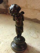 XIX Bronze angelot Les Liens de l'Amour ange Cupid putto putti Delavigne Denise
