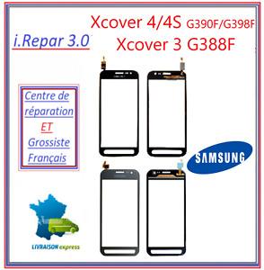 Vitre tactile samsung galaxy Xcover 3 G388F ou X cover 4 G390F ou 4s G398F Noir