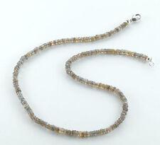 Echte Edelstein-Halsketten & -Anhänger aus Sterlingsilber mit Labradorit für Damen