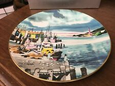 "Royal Doulton Fisherman's Wharf Limited Ed 10-3/8"" Collector's Plate"