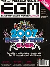 Very Good  Electronic Gaming Monthly 2005 2006 2007 MAGAZINE Lot of 18