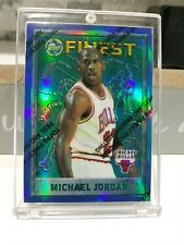 95-96 finest refractor🔥 Michael Jordan. Very Rare.w/coating INVEST🚀🚀🚀