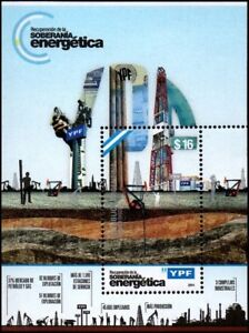 OIL-YPF ENERGY COMPANY-ARGENTINA-STAMPS-2014-
