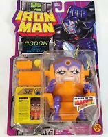 NEW 1995 Vintage Marvel Action Hour Comic Toy Biz Iron Man MODOK Figure On Card