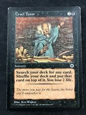MTG Magic The Gathering Cruel Tutor Portal Rare HP