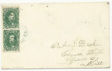 CSA Scott #1 Stone 2 Vert Pair Plated Positions 14 24 Bowling Green KY CDS Cover