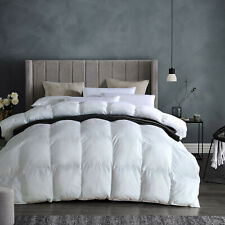 All Seasons White Goose Down Comforter King Size for All Seasons 106x90inches