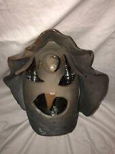 Southern Folk pottery clay witch jack o'lantern