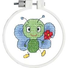 Green Animals & Insects Cross Stitch Kits