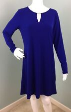 NWT Womens Michael Kors L/S Azurite Cut Out V Neck Dress Sz M Medium