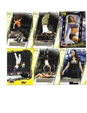 TOPPS 6 WWE SEXY LITA WRESTLING CARDS SEE SCAN