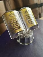 20% OFF Quran Crystal Ornament Gold. First two quran chapters. Ramadan EId Gift