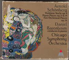 DANIEL BARENBOIM chicago symphony orchestra - arnold schonberg CD