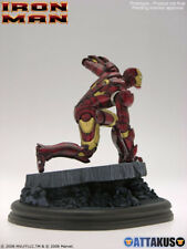 Statuette Iron Man - Attakus - Résine - 039/699 - 2009 - 20cm - Avec boîte