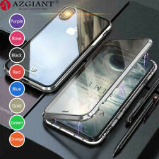 Magnetic Phone Case Tempered Glass for Iphone 11 Pro MAX XS X 7 8 Plus 6 6S Plus