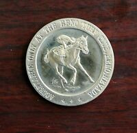 1968 Reno Hotel Turf Club Dollar Gaming Token Reno Nevada