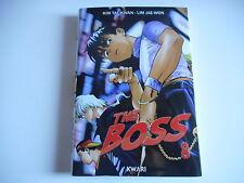 MANGA - THE BOSS N°8 - KIM TAE-KWAN . LIM JAE-WON
